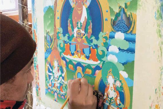 Indien: Bilder för bön