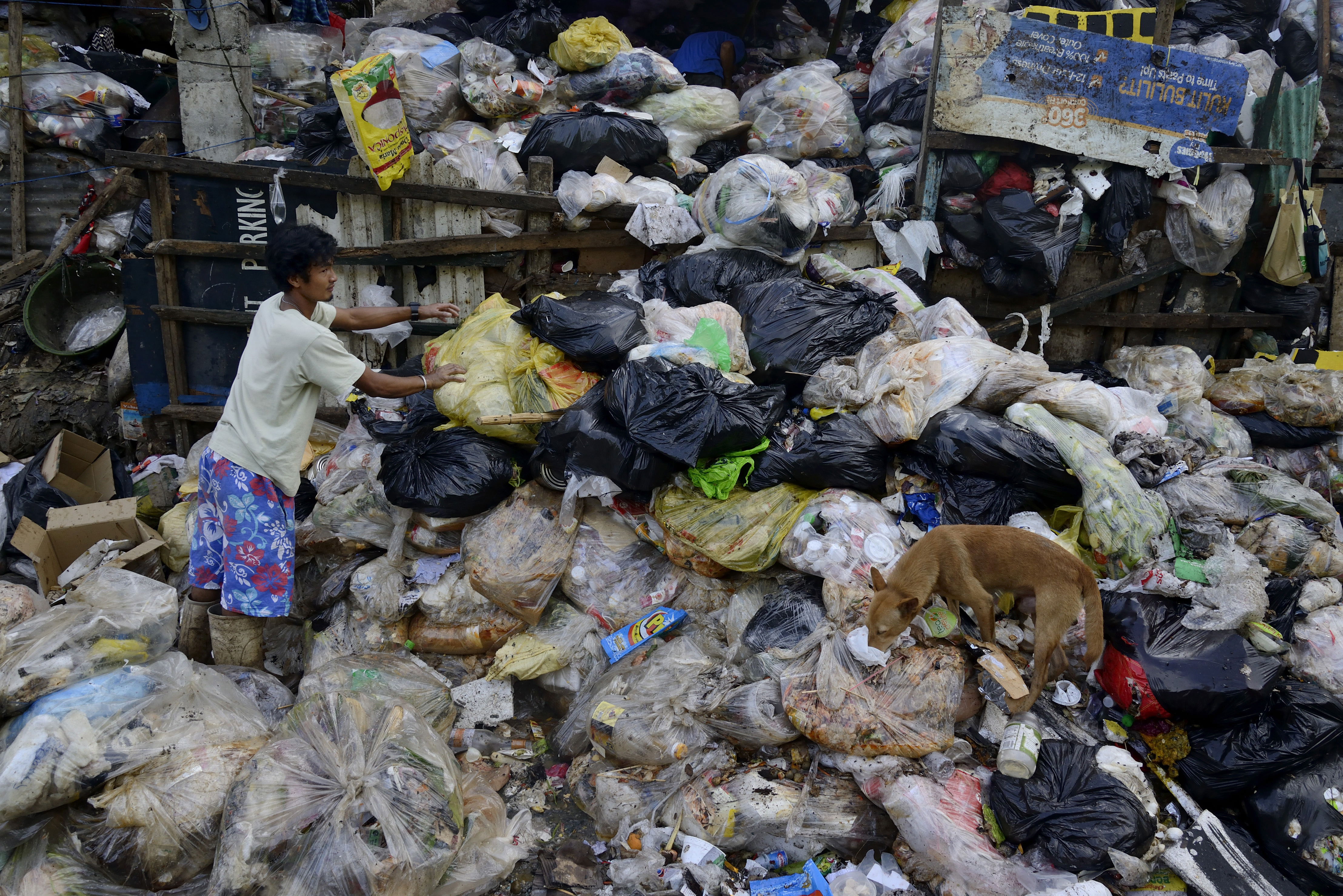 Filippinerna: 56 000 kubikmeter om dagen