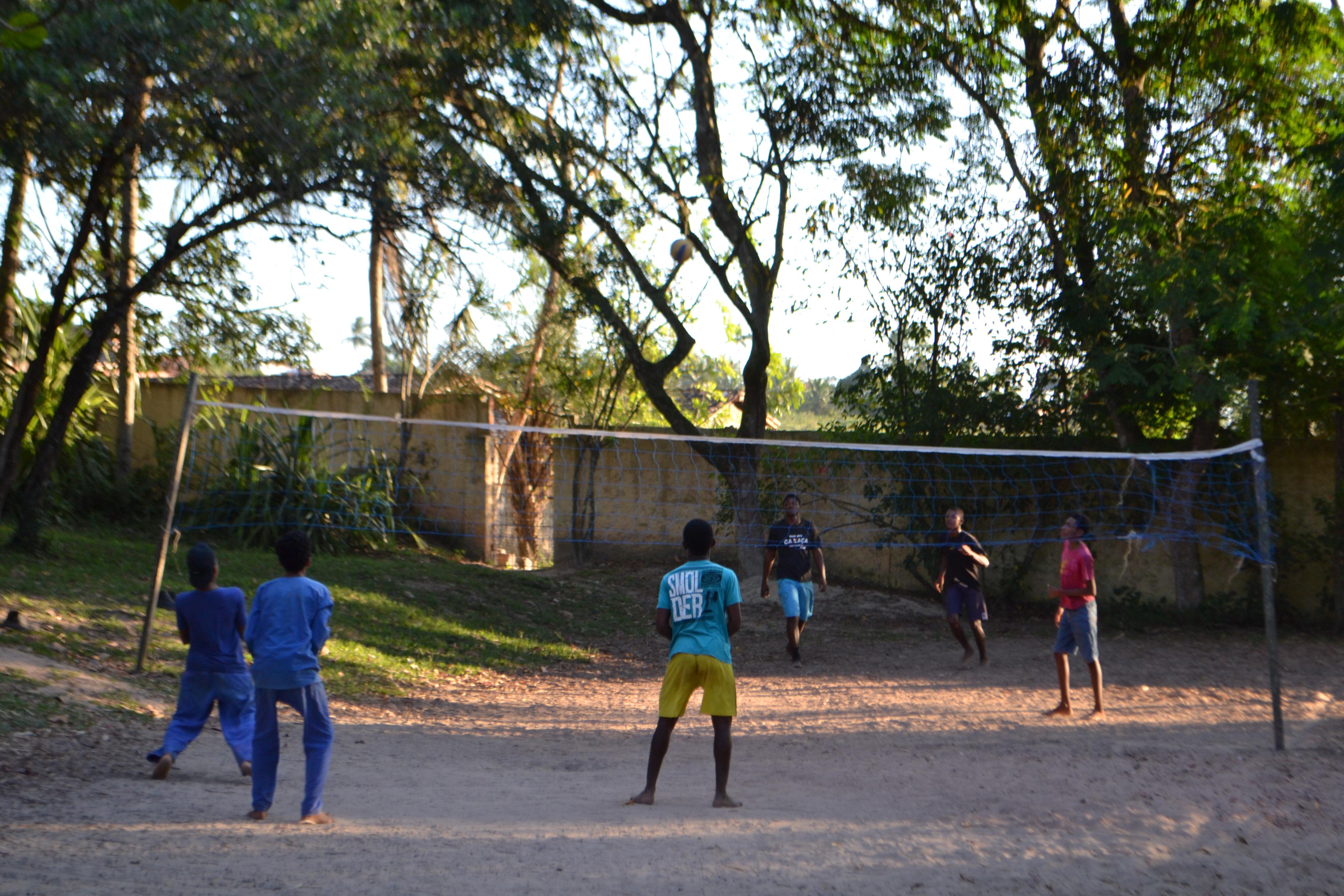 Brasilien: På bara fötter