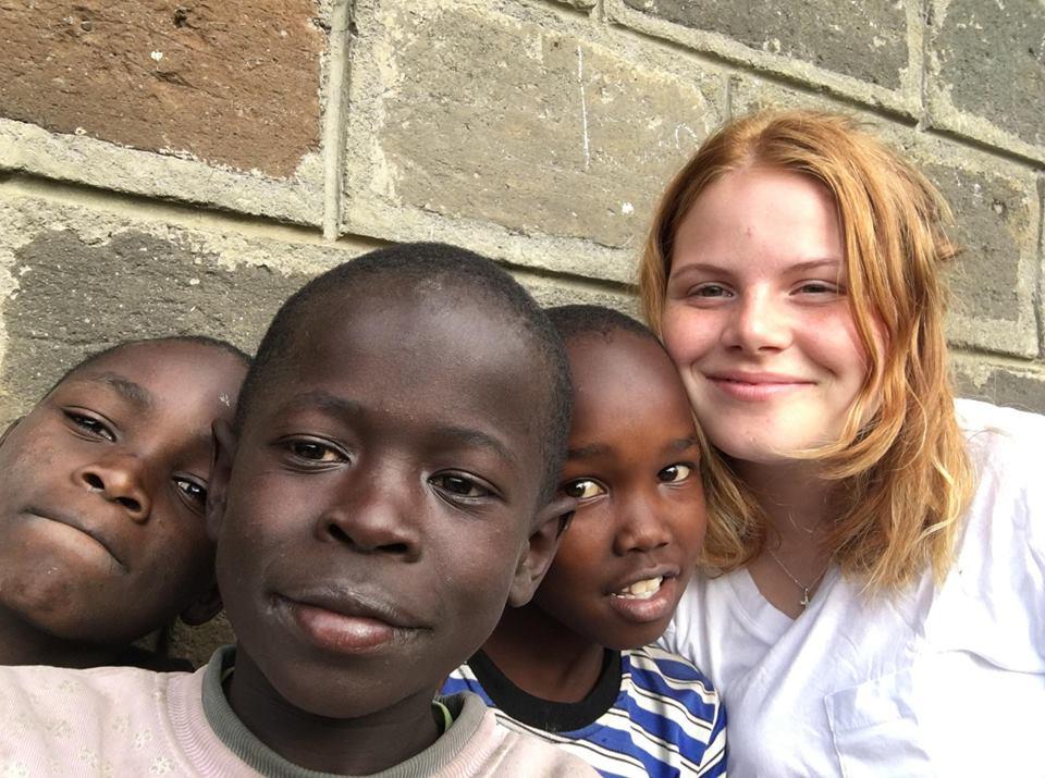 Kenya: Två kramar var