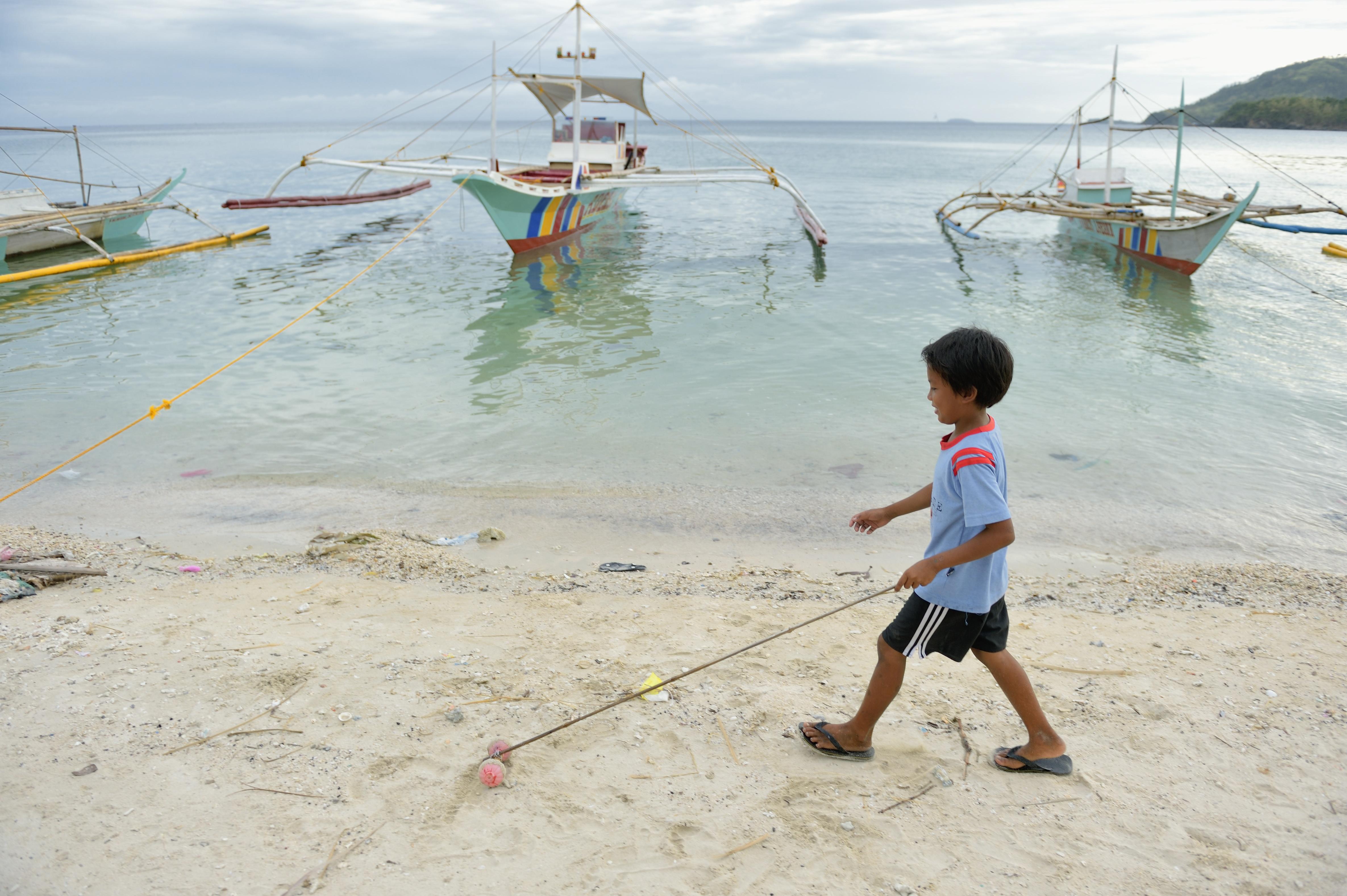 """Filippinerna: """"Man är aldrig ensam"""""""