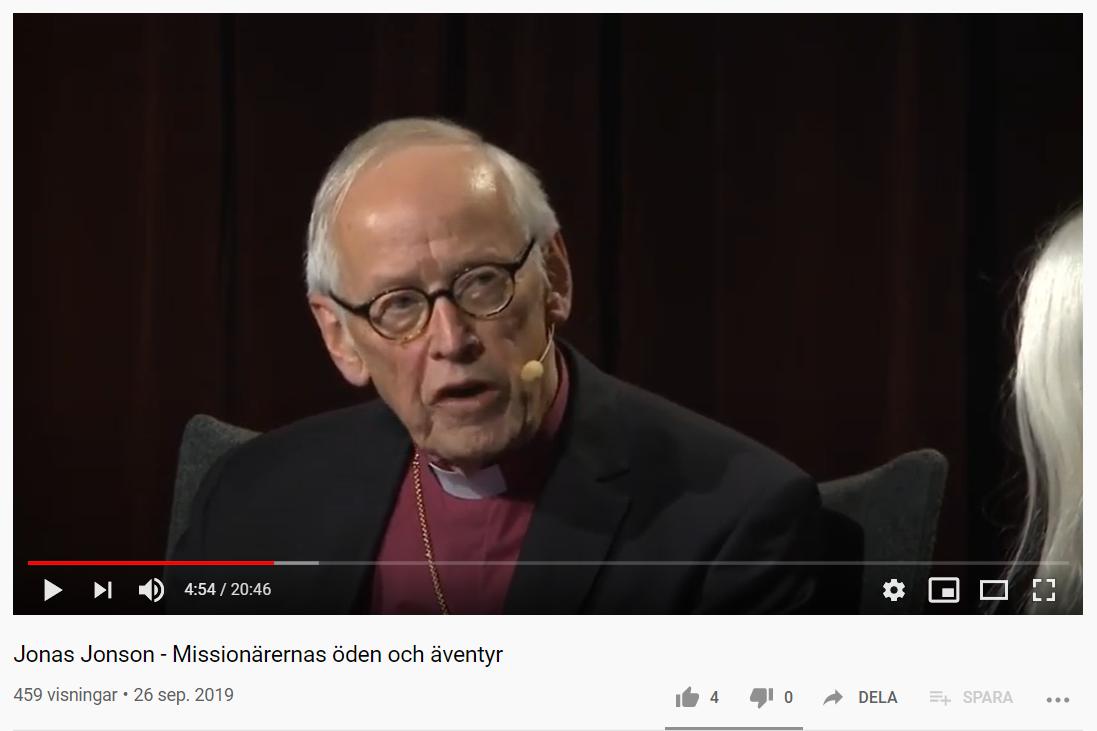 Jonas Jonson om Missionärerna
